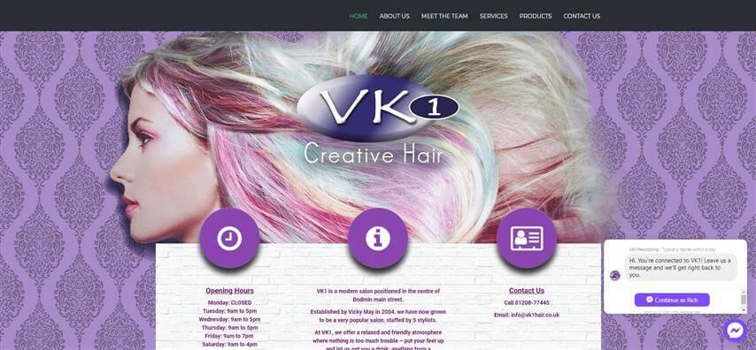 VK1 Creative Hair