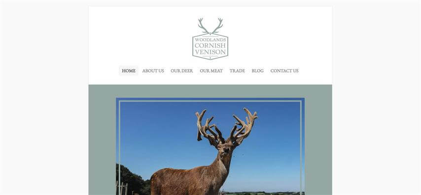 Woodlands Cornish Venison